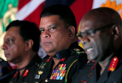Sri Lanka names war veteran as army chief, U.S., U.N. critical of decision