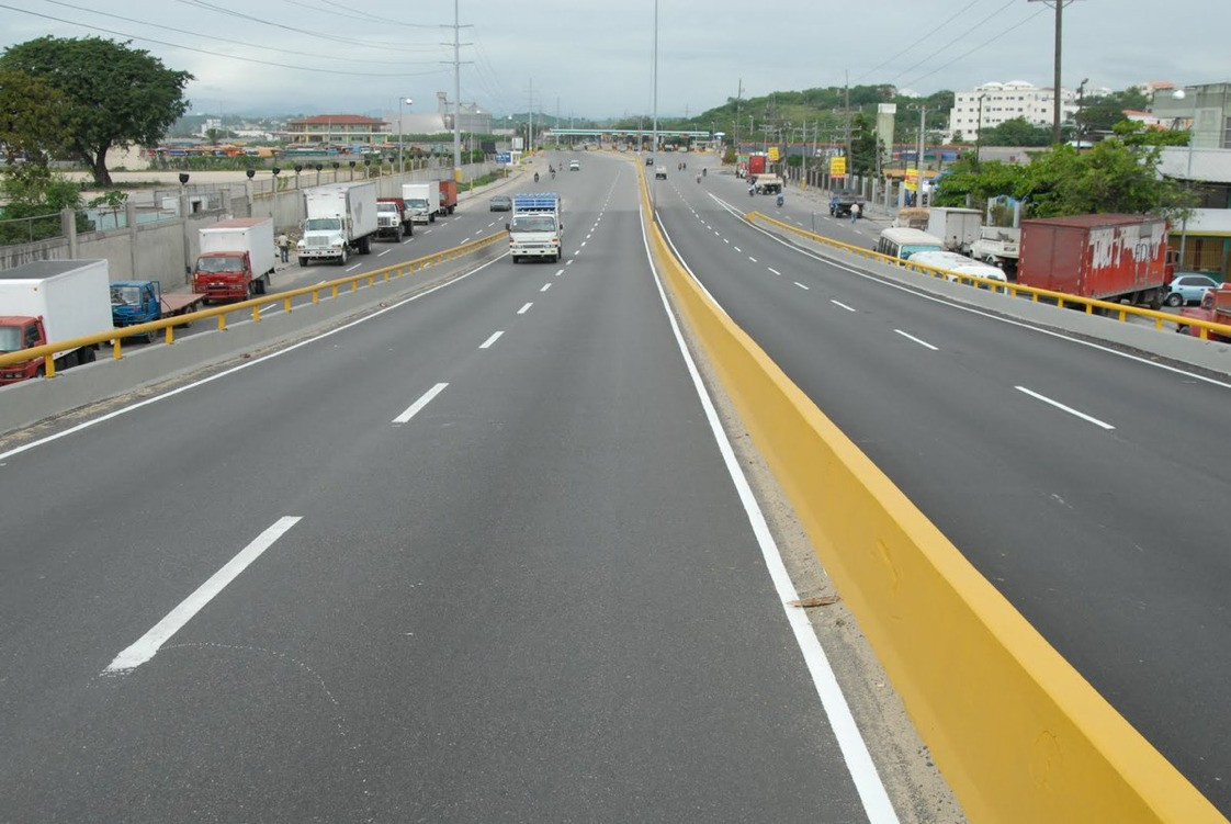 Será terrible el tránsito a partir de mañana en la capital dominicana..
