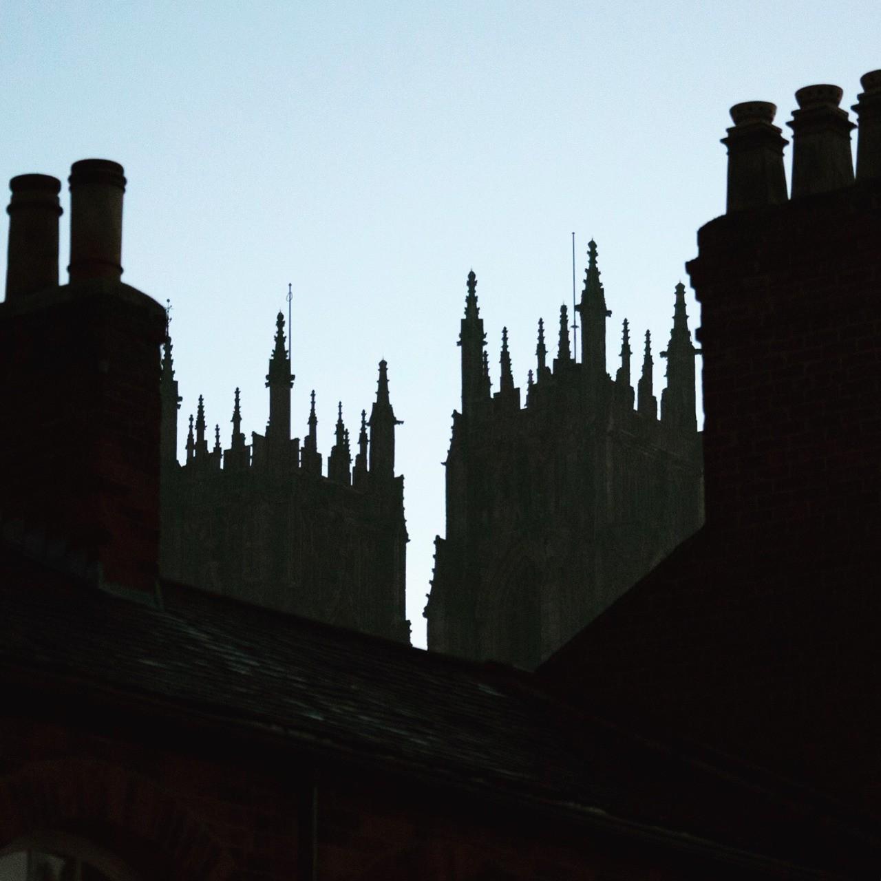 Roof top silhouette, Beverley, Yorkshire, UK - follow me on Instagram: @fotofacade