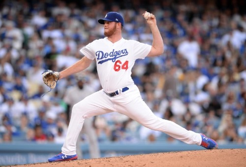 Dodgers recall LHP Ferguson, option RHP Sadler