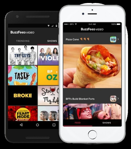 BuzzFeed Creates Its First All-Video App
