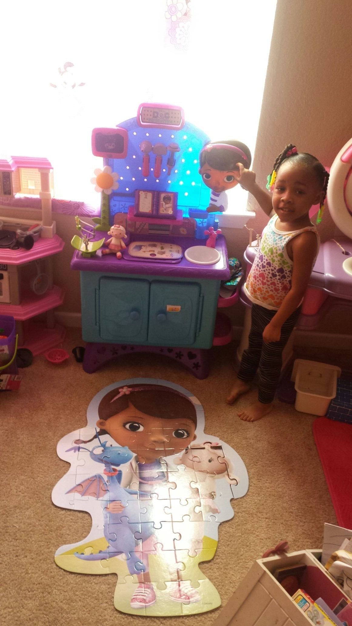 Can't tell my baby non bout doc mcstuffins