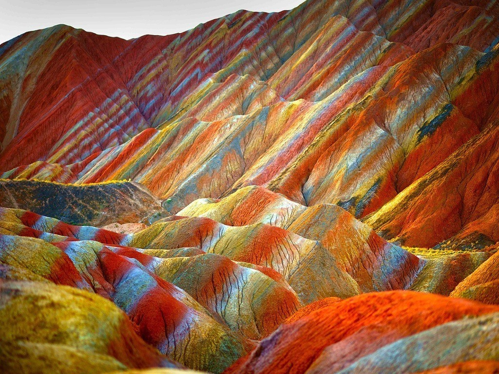 Rainbow world: the most colourful places on Earth – in pictures