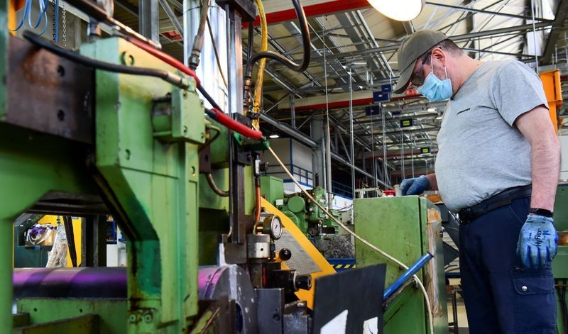 Italian manufacturing activity rebounds in July: PMI