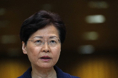 Hong Kong leader promises dialogue to help end protests