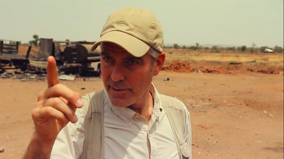 George Clooney takes viewers to a region in Sudan to witness the horrors of the government's campaign against its own people.