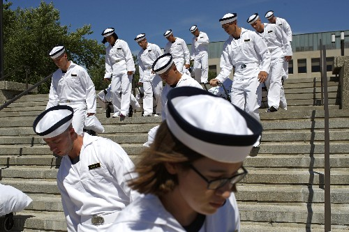 Nominations to military academies on the rise for women