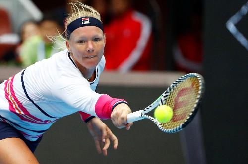 WTA roundup: Bertens advances to face Gauff