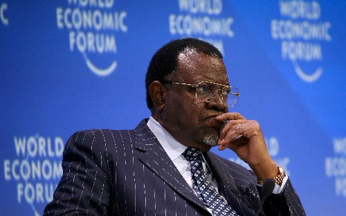 Namibian president set for re-election next month amid economic crisis
