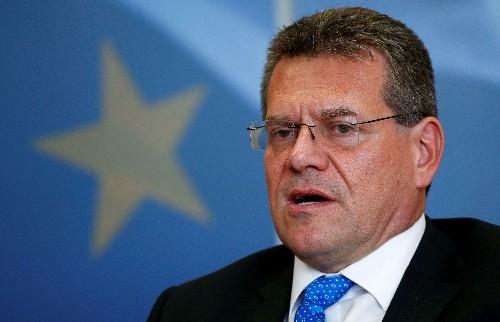 Diplomat Sefcovic to run for Slovak president