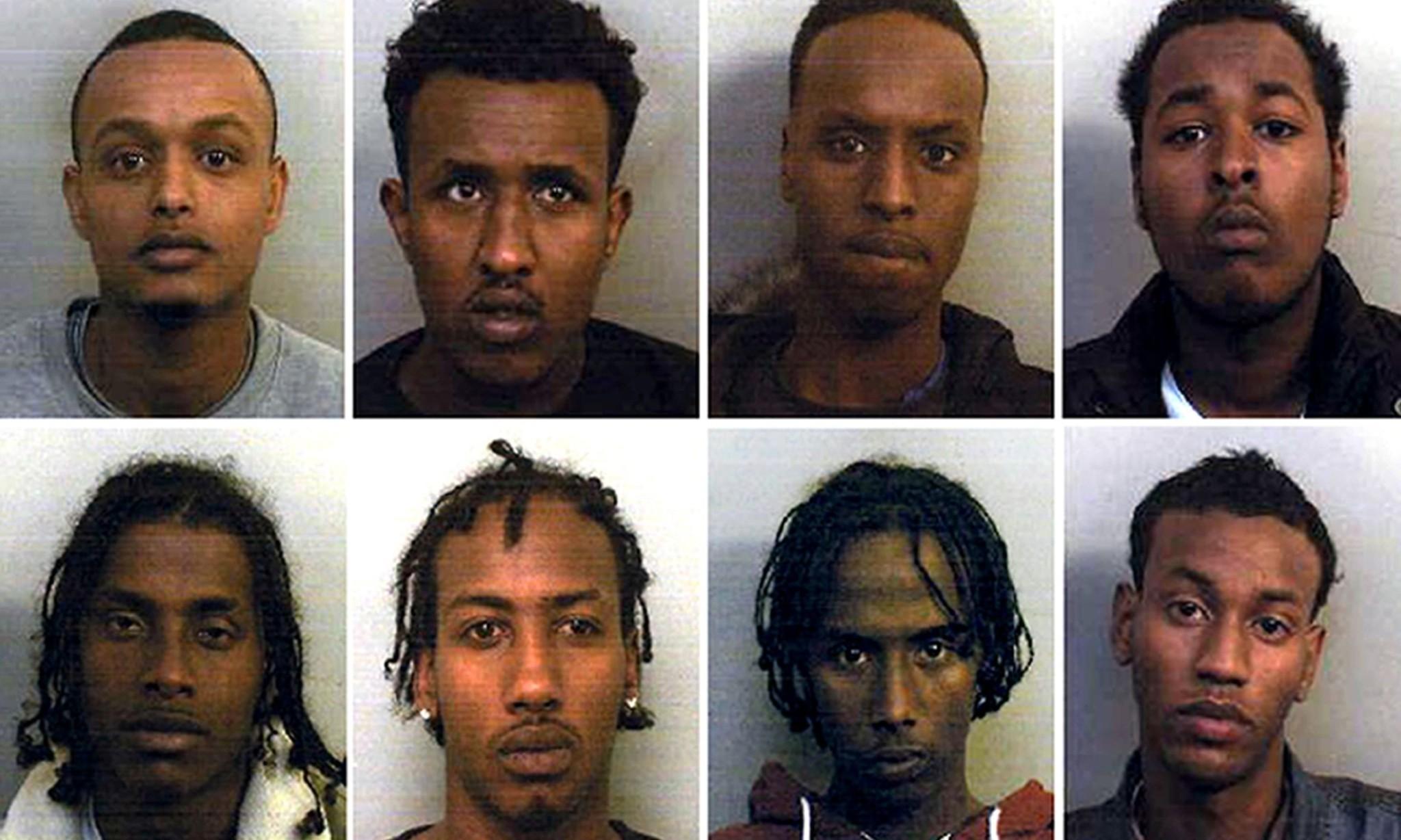 13 men guilty of enforced prostitution and rape of vulnerable girls in Bristol
