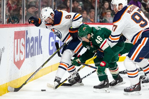 Talbot, Oilers beat Wild to end skid
