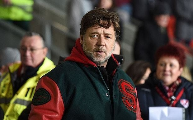 Russell Crowe considers buying Leeds United after request from fan for Hollywood star's help