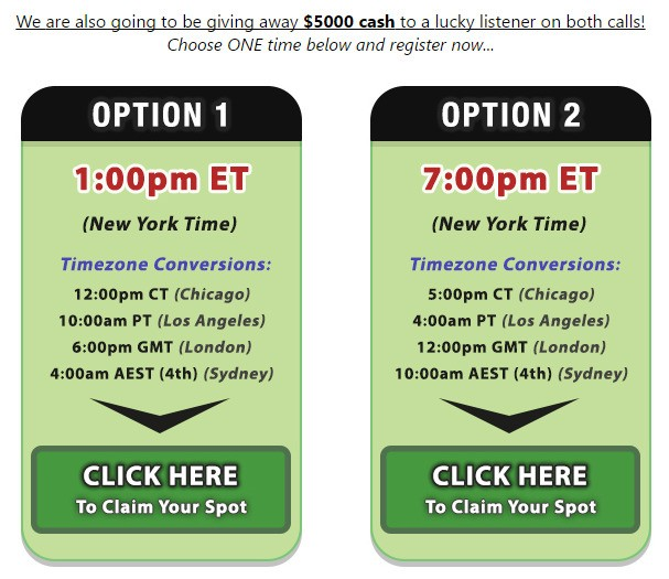 #winfreemoney #freewebinar #winmoneyforwebinar #5000free Do You Want To WIN $5000 Just for Participate To This Webinar? Register Now!