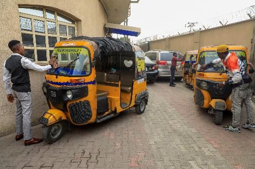 Burning tyres and sore feet: Lagos bristles under bike ban