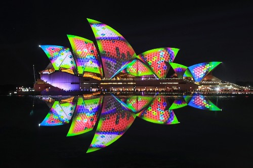 The Vivid Sydney Festival of Light in Pictures