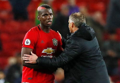 Pogba, De Gea ruled out of Man United clash with Liverpool