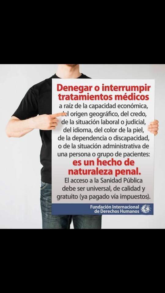 De quién depende nuestra vida?, ya estamos obligados a luchar en la justicia para que el estado nos brinde medicamentos ahora vamos a tener otro impedimento, pues se nos va dificultar hasta el acceso a la justicia. Esta es el Estado de Derecho que queremos los uruguayos?. Ayuden en esta causa compartiendo y difundiendo por las redes sociales.