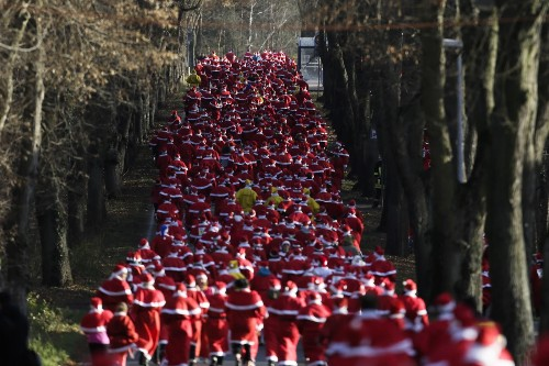 Santa Run 2015 in Pictures