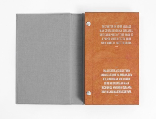 Can This 'Drinkable Book' Improve Public Health?