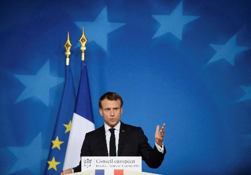 Macron takes swipe at halting NATO reaction to Turkey's Syria incursion