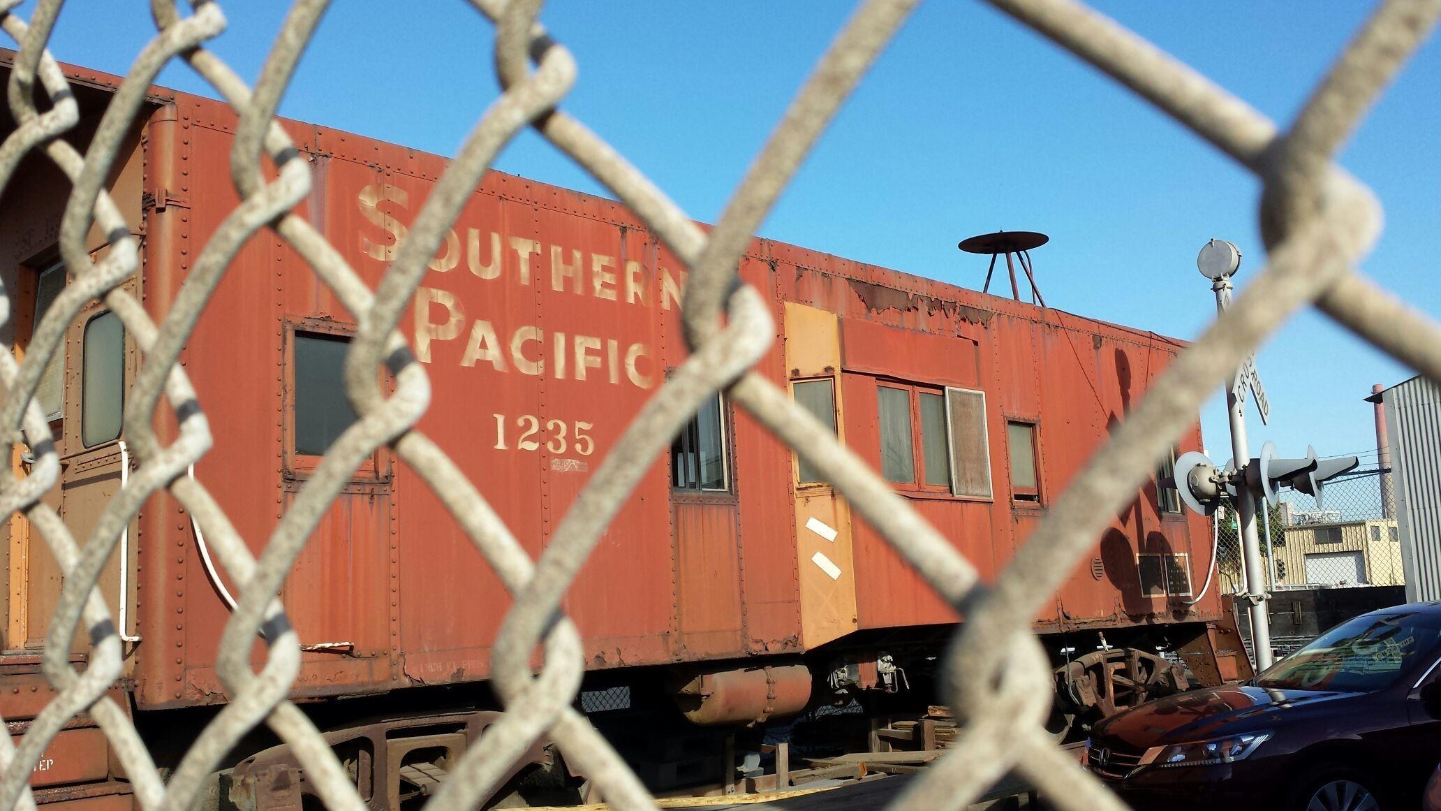 Dogpatch caboose.