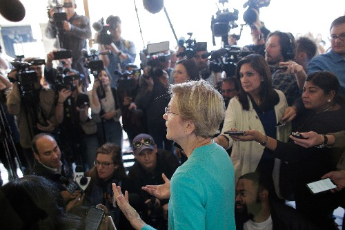 Elizabeth Warren appears to drop opposition to unlimited-money group backing her campaign