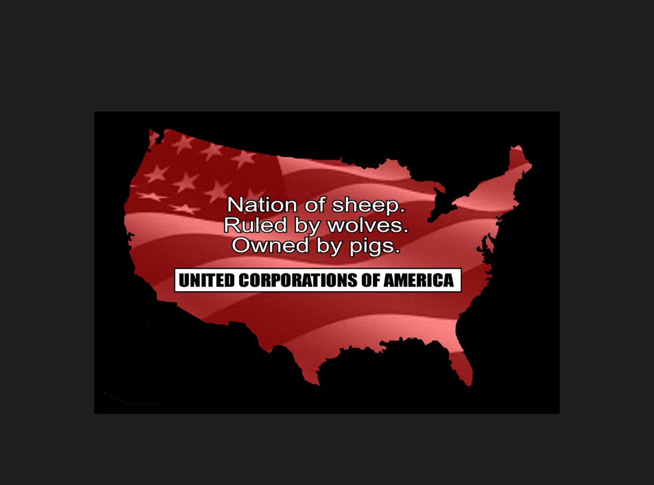 US Corporate Tyranny cover image