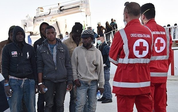 Italy accused of bringing in Islamist 'terrorists' after Christians thrown into sea