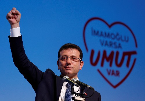 Ousted Istanbul mayor leading re-run polls after TV debate: pollster