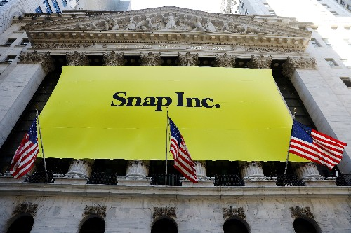 Snap shares hit by second CFO exit in a year