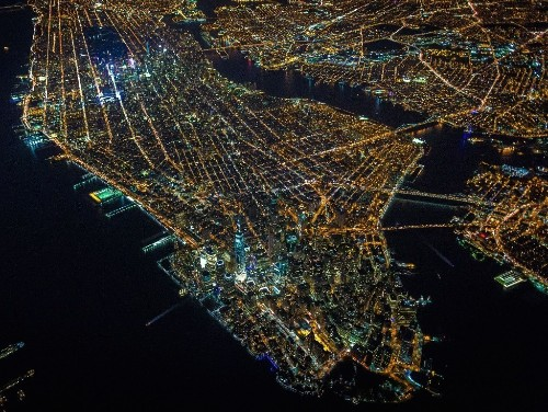 THE SHOT: Up, Way Up, Over Manhattan