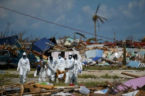 Tropical Storm Humberto lashes Bahamas, U.N. chief views devastation from Dorian