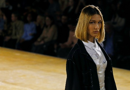 Tisci takes Burberry's Victorian past to the future in spring show