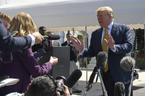 Trump says he'd rather face Biden, isn't prepared to lose