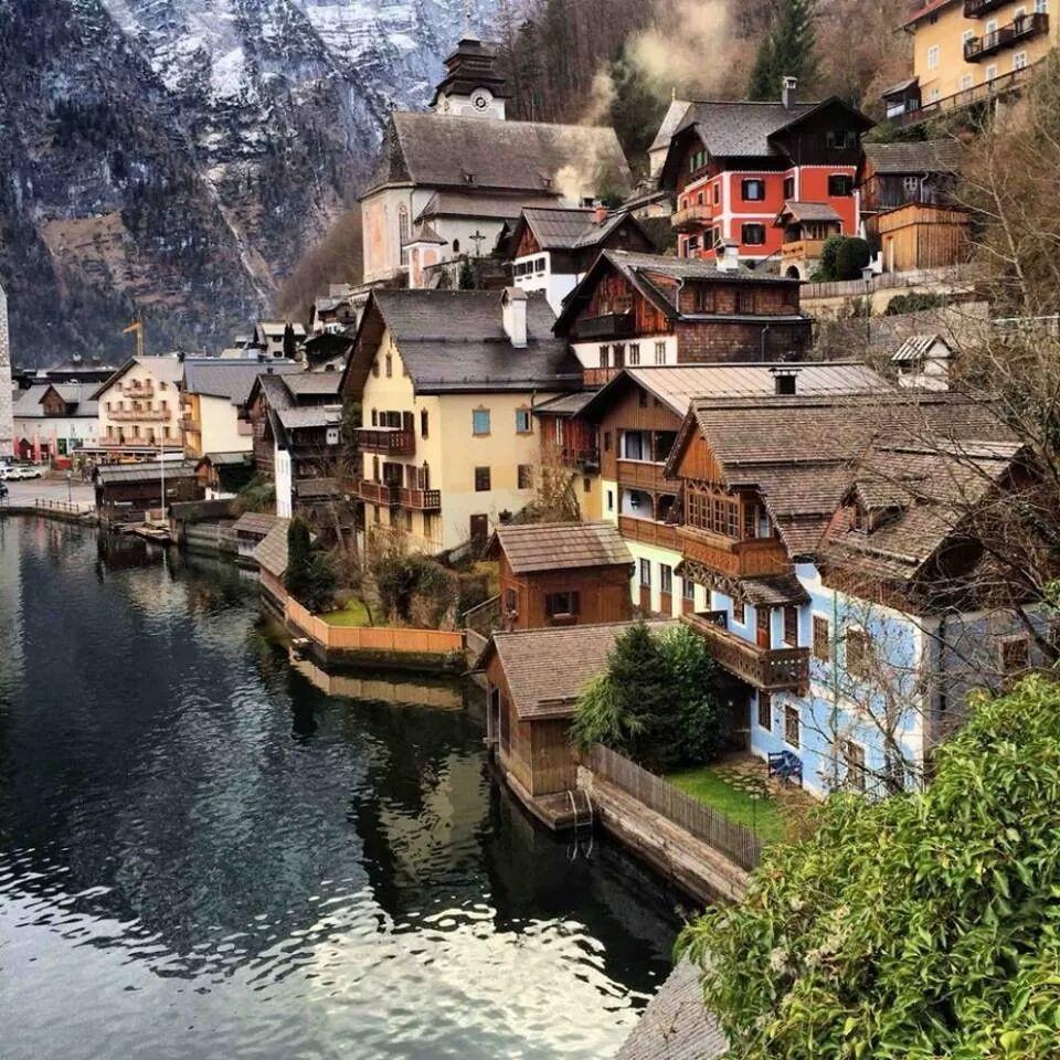 Halstatt...quaint village in Austria