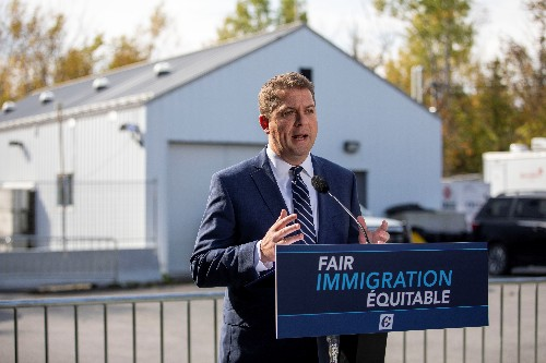 Canada's Conservatives vow to limit illegal border crossings by migrants