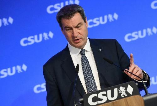 Söder erhält Rückenwind bei Wiederwahl als CSU-Chef