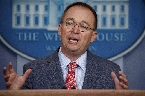 Mulvaney won't sue over impeachment, declines to cooperate