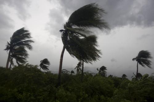 Hurricane Matthew Roars Through Caribbean: Pictures