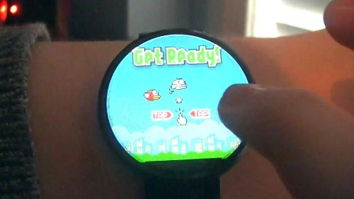 Flappy Bird's Android Wear App Challenges Apple Watch