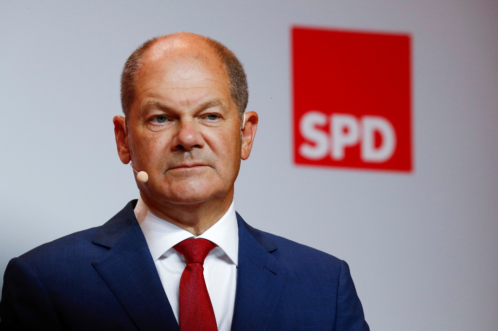 German Social Democrats pick finance minister Scholz as chancellor candidate