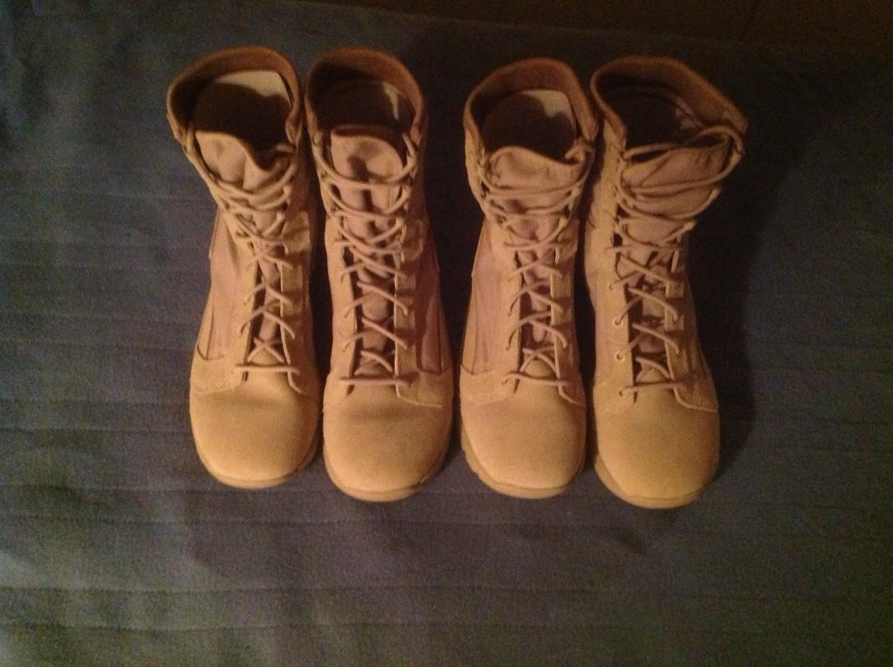 I got new combat Boots just got THEM