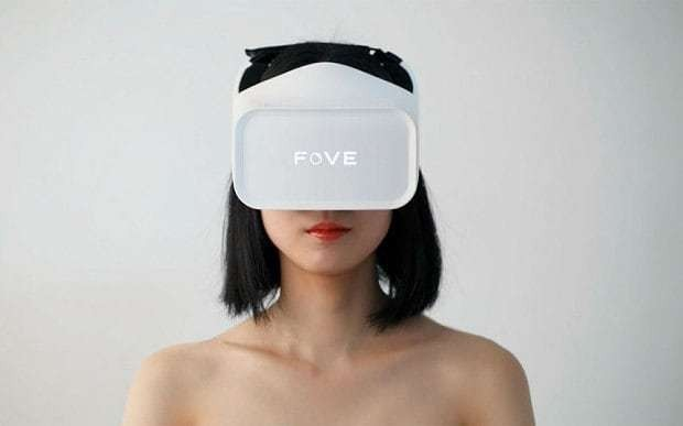 Fove: the virtual reality headset you can control with your eyes