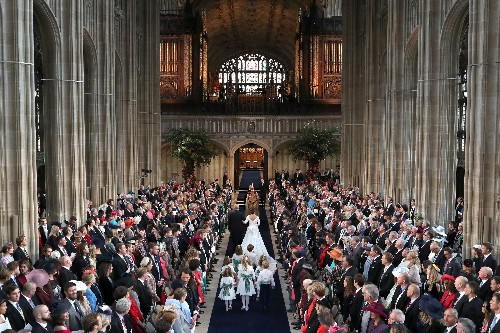 Great Gatsby makes an appearance at a British royal wedding