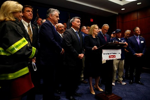 U.S. Congress sends Trump permanent renewal of 9/11 responders' compensation