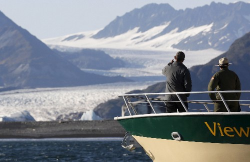 Corrected: Disappearing frontier: Alaska's glaciers retreating at record pace