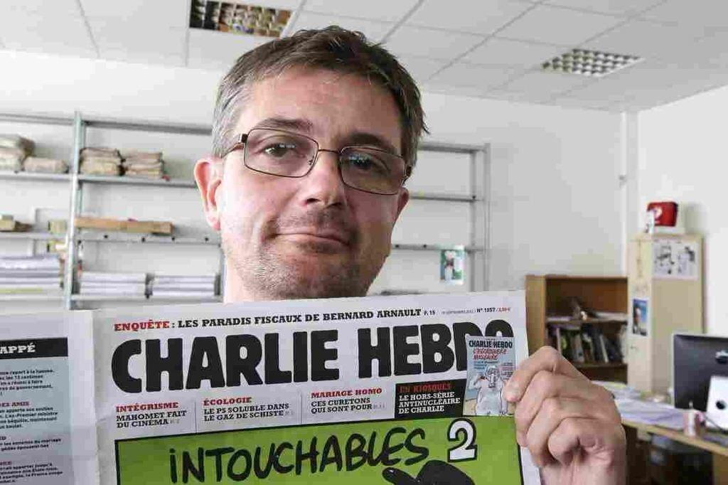 'Charlie Hebdo,' A Magazine Of Satire, Mocks Politics, Religion