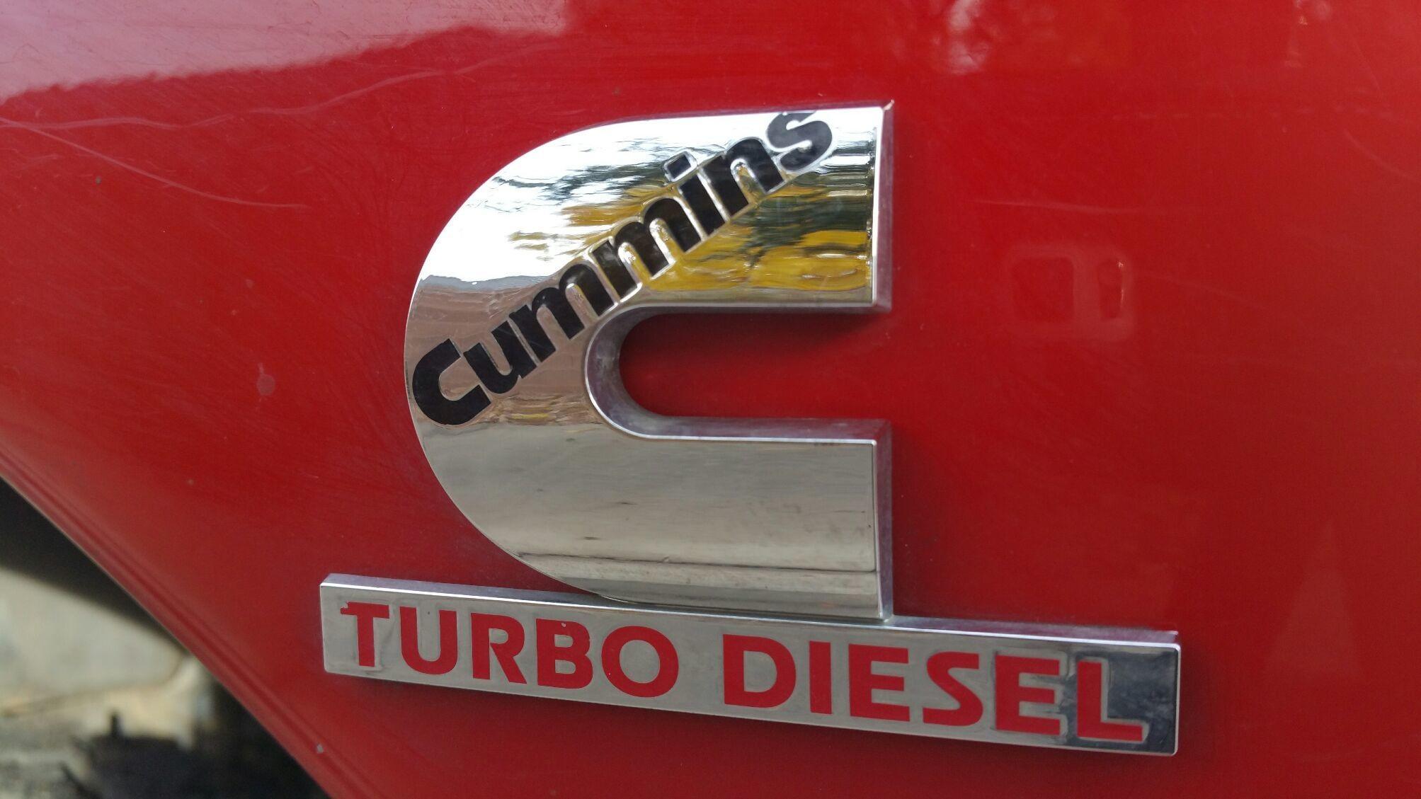 Cummins Turbo Diesel - Magazine cover