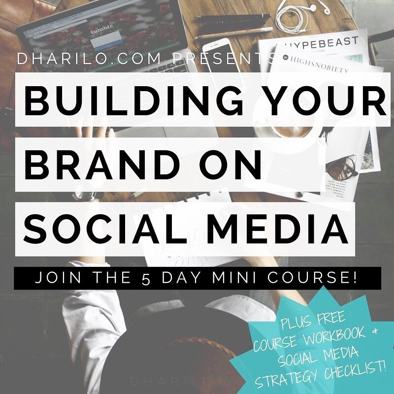 Learn the basics to building your #brand on #socialmedia in just 5 days with my new mini course! Details & enroll: bit.ly/2eC57Sc